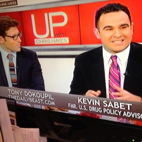 "Kevin A. Sabet Discusses Marijuana Policy on MSNBC's ""Up with Chris Hayes"" – Part 1"