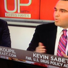 "Kevin A. Sabet Discusses Marijuana Policy on MSNBC's ""Up with Chris Hayes"" – Part 2"